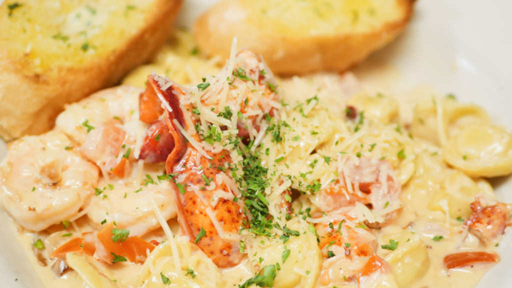 Lobster & Shrimp Tortellini